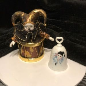 Other - Music box and bell jester decor